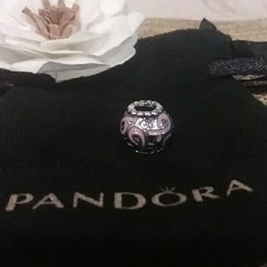 Pandora Pink Ribbon Breast Cancer Charm (retired)